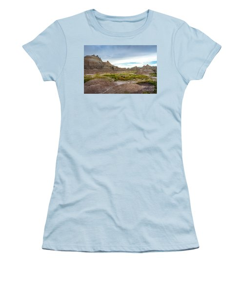 Pinnacles Of The Badlands Women's T-Shirt (Athletic Fit)