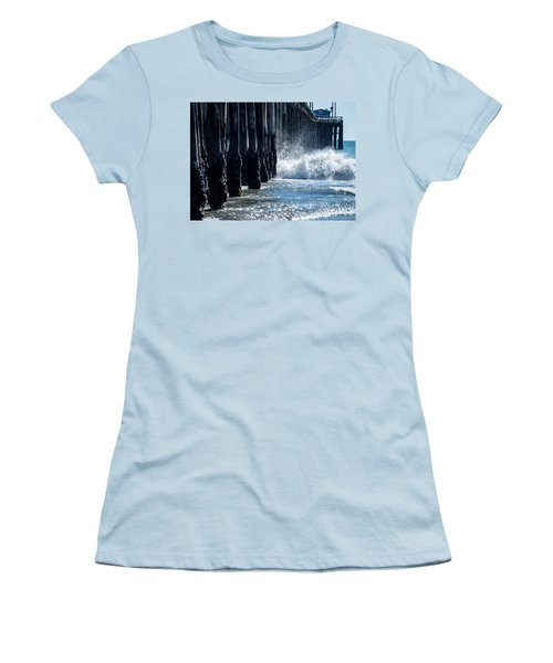 Pismo Pier Women's T-Shirt (Athletic Fit)