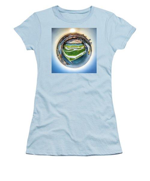 Planet Summerfest Women's T-Shirt (Athletic Fit)