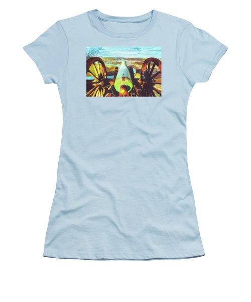 Point Park Cannon Women's T-Shirt (Athletic Fit)