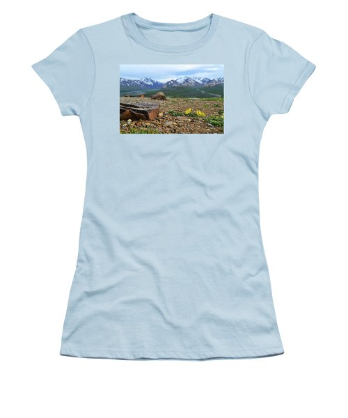Polychrome Pass, Denali Women's T-Shirt (Athletic Fit)