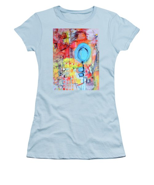 Pools Of Calm Women's T-Shirt (Athletic Fit)