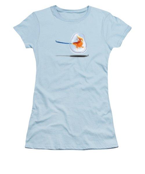 Popper Wordless Women's T-Shirt (Junior Cut) by Rob Snow
