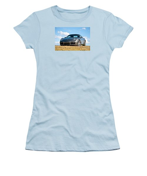 Porsche Cayman Women's T-Shirt (Athletic Fit)