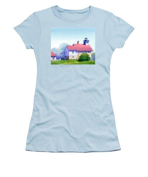 Port Washington Lighthouse Women's T-Shirt (Athletic Fit)