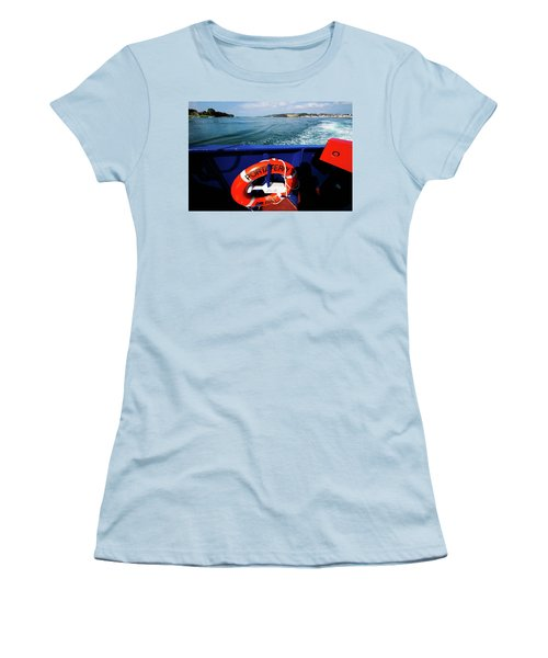 Portaferry Ferry Women's T-Shirt (Athletic Fit)