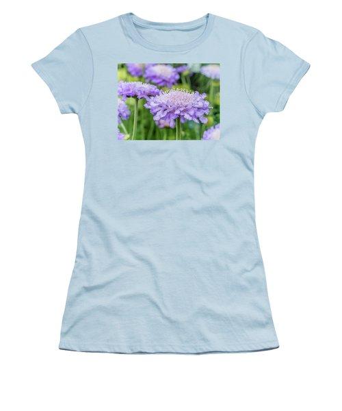 Pretty Purple Women's T-Shirt (Athletic Fit)