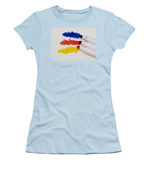 Primary Colors Women's T-Shirt (Athletic Fit)