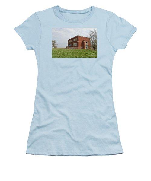 Primrose Nebraska School Women's T-Shirt (Junior Cut) by Renie Rutten