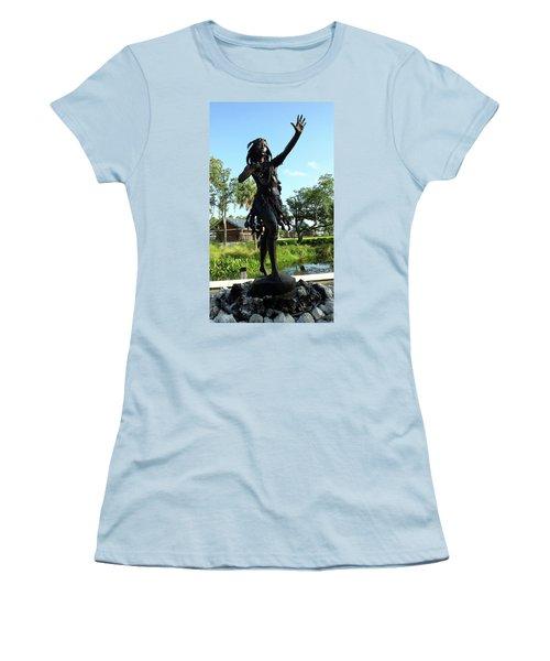 Princess Ulele Statue Women's T-Shirt (Athletic Fit)