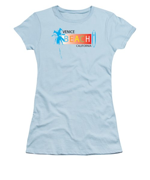 Venice Beach California T-shirts And More Women's T-Shirt (Athletic Fit)