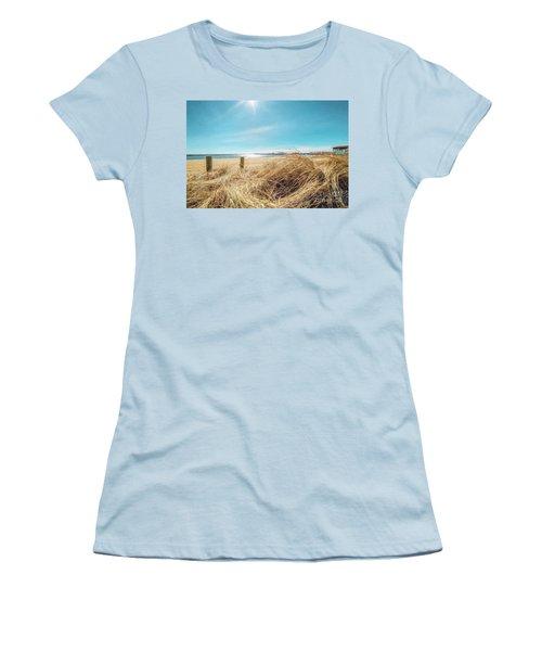 Provincetown Harbor Women's T-Shirt (Athletic Fit)