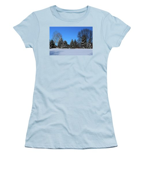 Provincial Pines Women's T-Shirt (Athletic Fit)