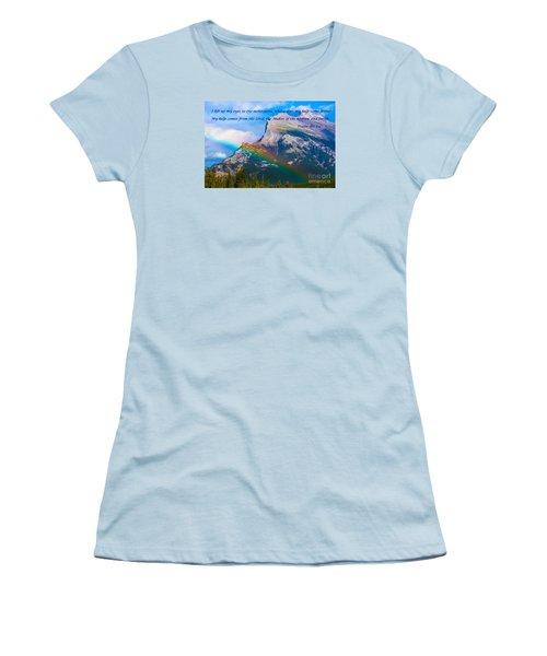 Psalm 121   1-2 Women's T-Shirt (Athletic Fit)