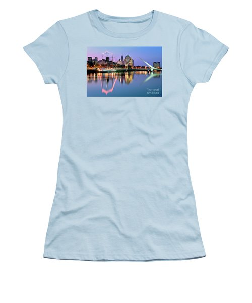 Puerto Madero I Women's T-Shirt (Junior Cut) by Bernardo Galmarini