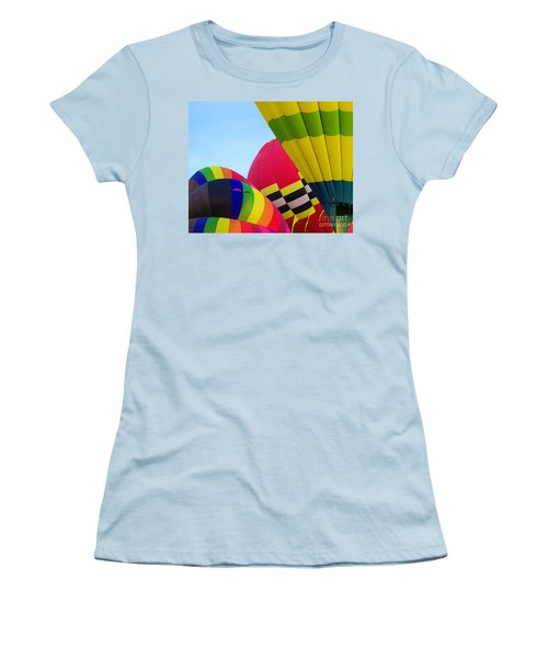 Pumped Up Women's T-Shirt (Athletic Fit)