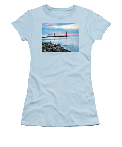 Women's T-Shirt (Junior Cut) featuring the photograph Pure Algoma by Bill Pevlor