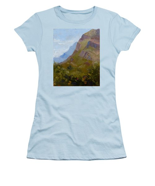 Pusch Ridge I Women's T-Shirt (Junior Cut) by Susan Woodward
