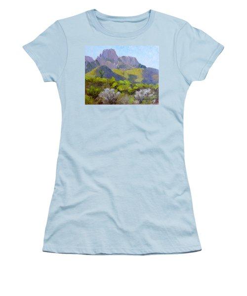 Pusch Ridge II Women's T-Shirt (Junior Cut) by Susan Woodward