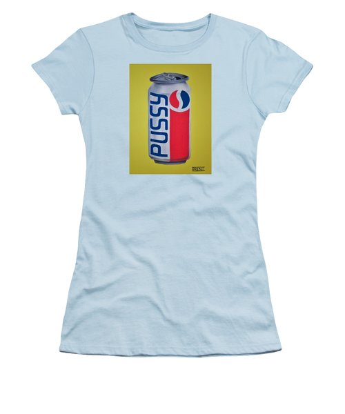 Pussy Pop Can Women's T-Shirt (Athletic Fit)