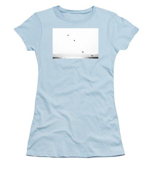 Women's T-Shirt (Junior Cut) featuring the photograph Quartet by Hayato Matsumoto