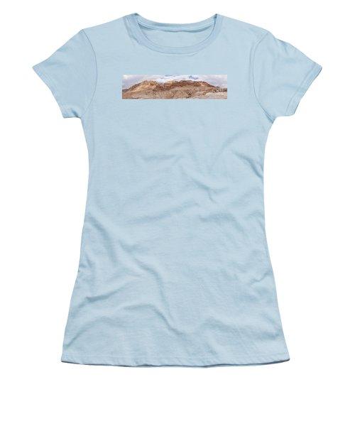 Women's T-Shirt (Junior Cut) featuring the photograph Qumran National Park by Yoel Koskas