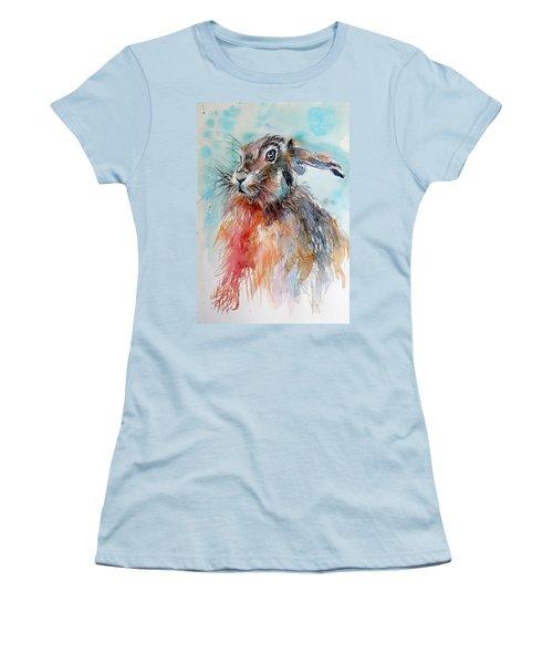 Rabbit Women's T-Shirt (Junior Cut)