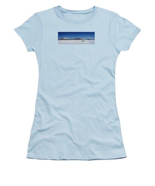 Racing On The Bonneville Salt Flats Women's T-Shirt (Athletic Fit)