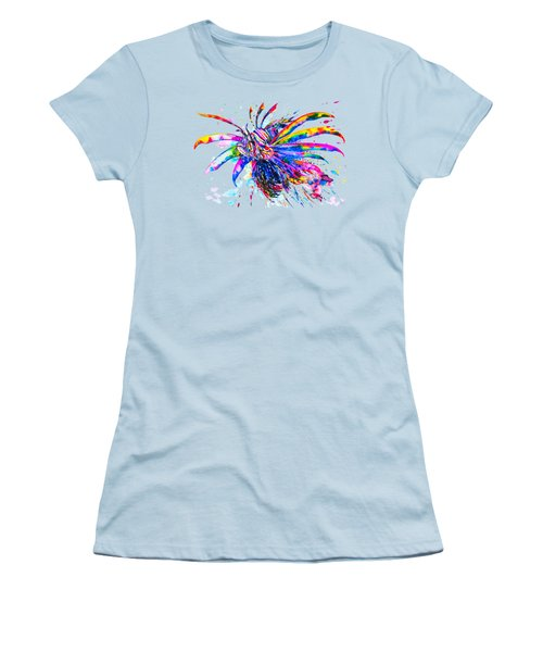 Rainbow Lionfish Women's T-Shirt (Athletic Fit)