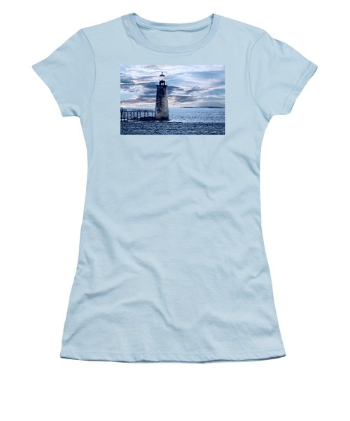 Ram Island Head Lighthouse.jpg Women's T-Shirt (Athletic Fit)