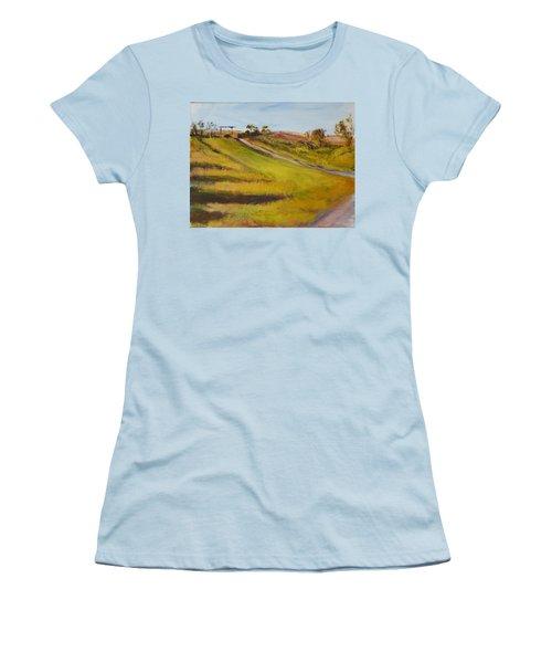 Ranch Entrance Women's T-Shirt (Junior Cut) by Helen Campbell