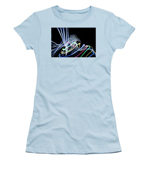 Raven In The Night Women's T-Shirt (Junior Cut) by Ellery Russell