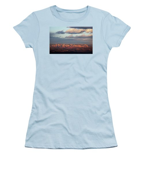 Red Rock Crossing, Sedona Women's T-Shirt (Junior Cut) by Ron Chilston