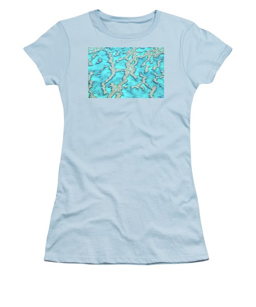 Reef Patterns Women's T-Shirt (Junior Cut) by Az Jackson