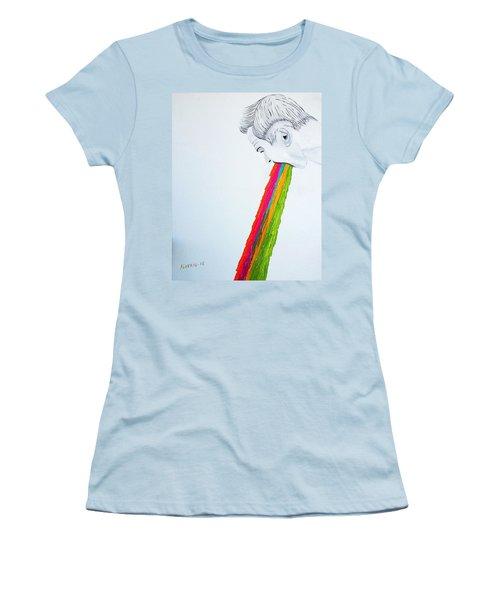 Regurgitate Women's T-Shirt (Athletic Fit)