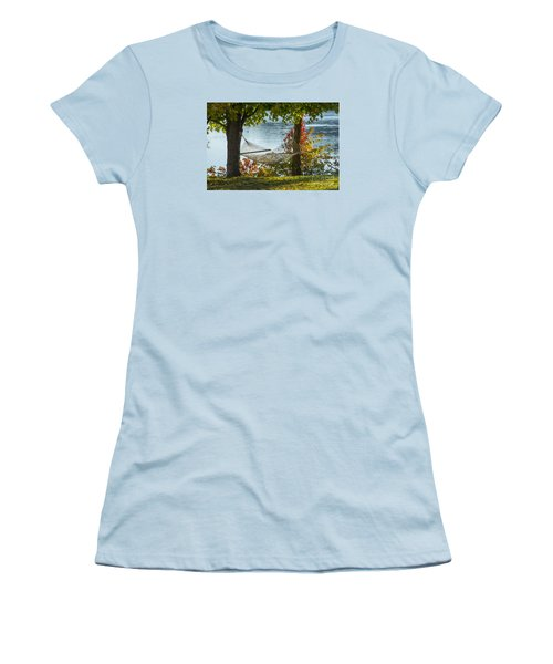 Relax By The Water Women's T-Shirt (Junior Cut) by Alana Ranney