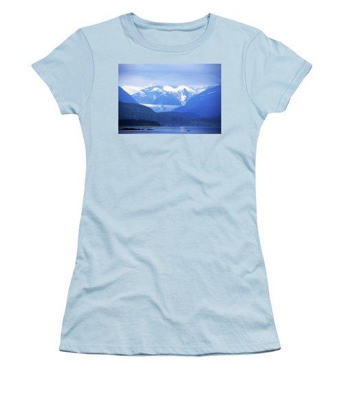 Remains Of A Glacier Women's T-Shirt (Athletic Fit)