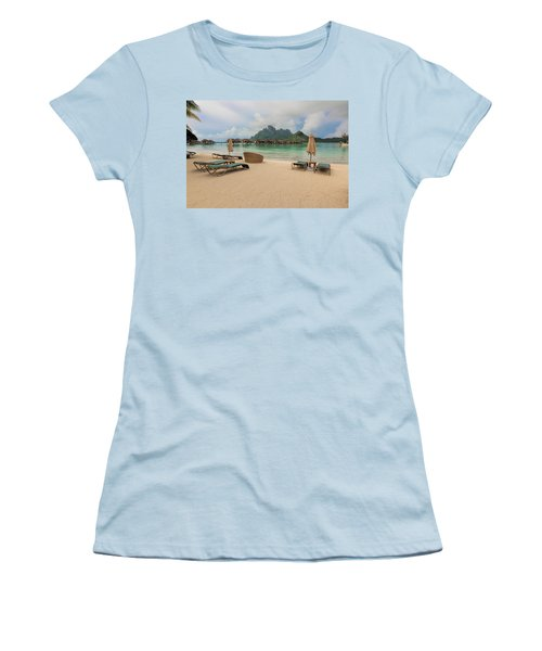 Resort Life Women's T-Shirt (Junior Cut) by Sharon Jones