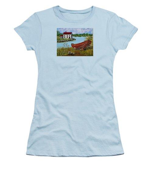 Retired Women's T-Shirt (Junior Cut) by Mike Caitham