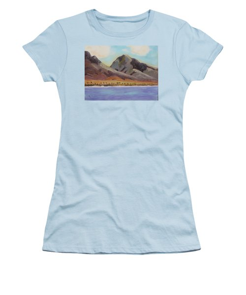 Return To Maui Women's T-Shirt (Athletic Fit)