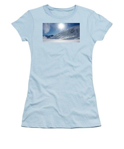 Rifflsee Women's T-Shirt (Junior Cut) by Christian Zesewitz