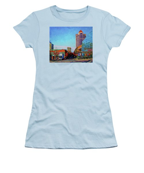 Rise And Shine - Roanoke Virginia Morning Women's T-Shirt (Athletic Fit)