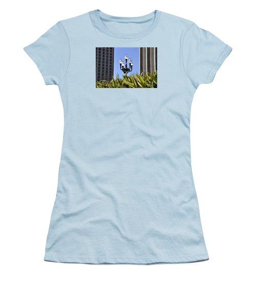 Riverwalk Lamp Women's T-Shirt (Athletic Fit)