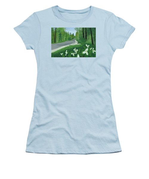 Road To Northport - Spring Women's T-Shirt (Athletic Fit)