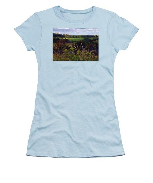 Roadside Wanderings Women's T-Shirt (Athletic Fit)