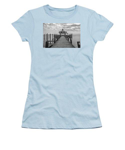 Roanoke Marshes Light Women's T-Shirt (Junior Cut) by David Sutton