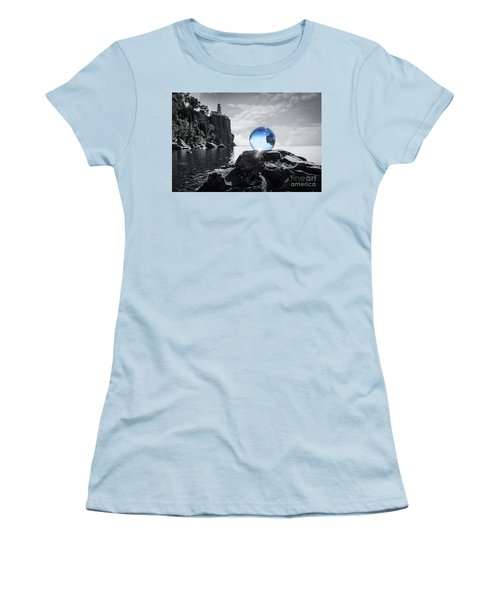 Rocky Crystal Women's T-Shirt (Athletic Fit)