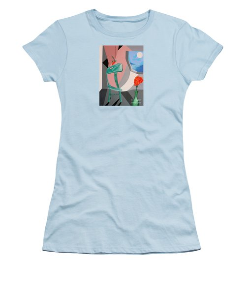 Room With A View #1 Women's T-Shirt (Athletic Fit)