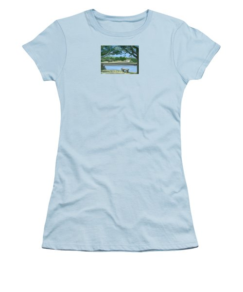Rosemary Lake Women's T-Shirt (Athletic Fit)