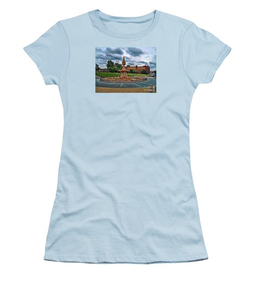 Women's T-Shirt (Junior Cut) featuring the photograph Round About by Roberta Byram